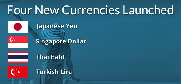 Midpoint Launches Four New Currencies to its Platform